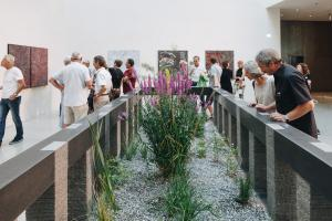 Herbert Meusburger: Leben leben lassen (Afrikanischer Granit, 38 Teile, 2018) (Foto: Florian Raidt)