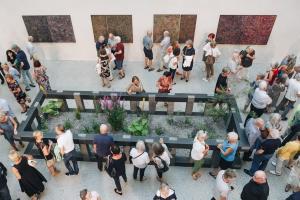 Herbert Meusburger im Vorarlberg Museum: Blick in die Ausstellung (Foto: Florian Raidt)