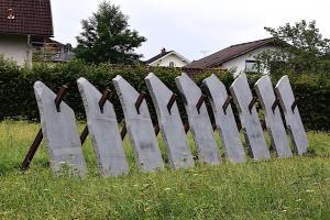 Herbert Meusburger: Der Wall (Mühlviertler Granit, 1997) (© Karlheinz Pichler)