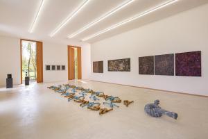 Herbert Meusburger: Ausstellungsansicht (© Petra Rainer)